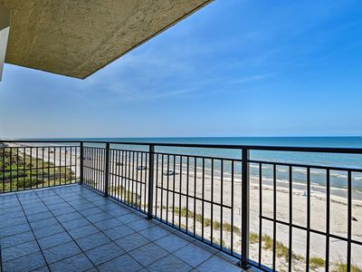 Photo for NEW! Oceanfront Condo w/Pool - Walk to Flagler Ave