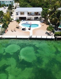 Photo for Duck Key Canal Waterfront w/ Large Boat Dock and Pool
