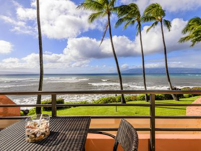 Photo for KULEANA 614 Top-Rated Oceanfront, Steps from Water!