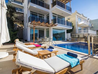 Photo for Luxurious 4 Bedroom Villa with Private Pool, Only 350 Metres from the Sea