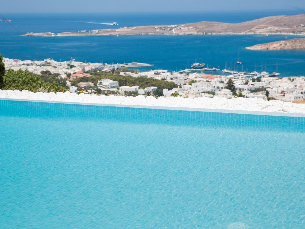 """""""POLOS Private Villa"""" in Paros with pool and breathtaking seaview and sunset"""