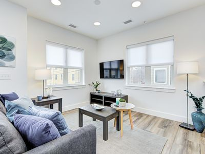 Photo for Spacious Condo Steps from Trendy Mass Ave