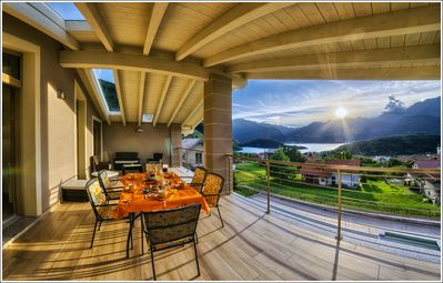 Photo for Brand new apartments with private pool and lake view, Lake Como