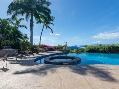Photo for Breath taking ocean and volcano views! Pool, Spa and you can even rent our JEEP