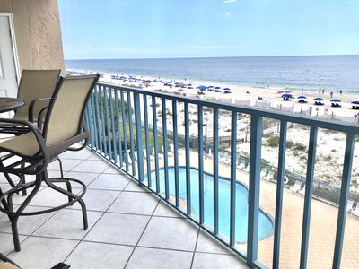 Photo for Gulf Front 3BD/3BA Corner Unit - Amazing Views with 5 Star Reviews!