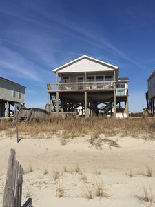Photo for Beautiful Oceanfront Beach Cottage! Panoramic Views!