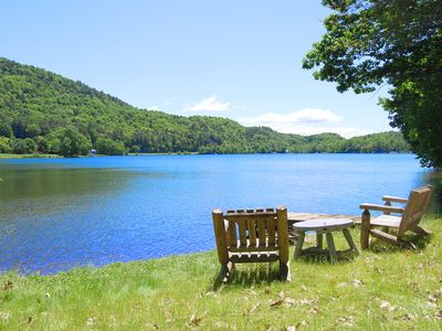 Private lakefront home -on Lake Beebe, Hubbardton, VT