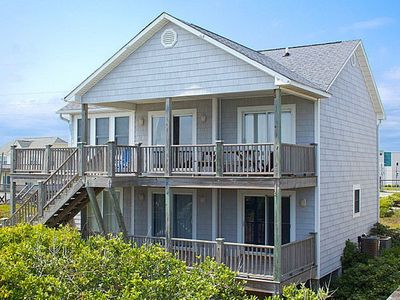 Photo for Our Time - Spectacular Oceanfront Home with Vibrant Nautical Decor, Pets Welcome!