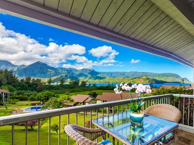 Photo for Breathtaking Views Of Hanalei Bay And Bali Hai!