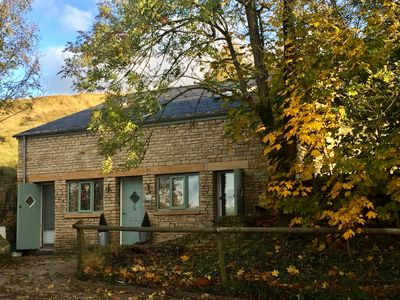 Photo for Cotswold Detached Hillside Cottage packed with Quirky Character