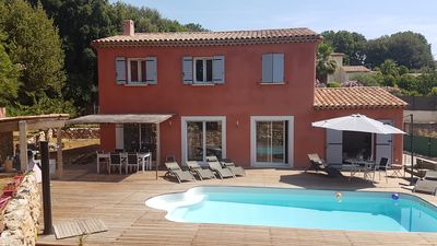 Photo for Superb Villa with private pool in absolute calm - 8 people