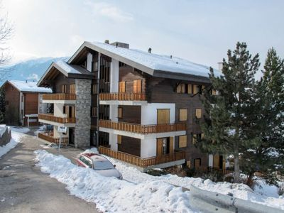 Photo for 1BR Apartment Vacation Rental in Veysonnaz, Bezirk Sion