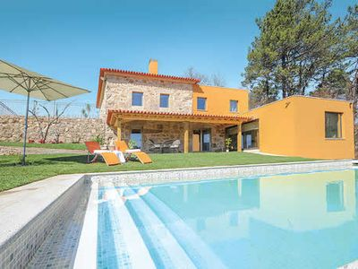 Photo for 5 bedroom villa w/ ensuites, steam room, pool, table tennis & free Wi-Fi