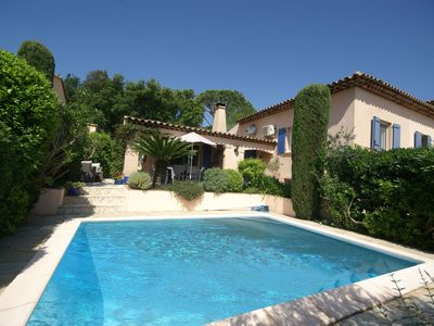 Photo for Beautiful villa with private pool, lovely terraces, privacy and near St. Tropez