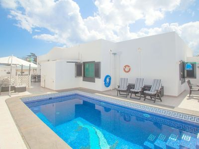 Photo for VILLA COSTA TEGUISE £250 RETURNABLE RETAINER