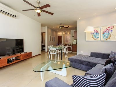 Photo for Incredible Living In A Prime Downtown Location on 5th Avenue in Playa