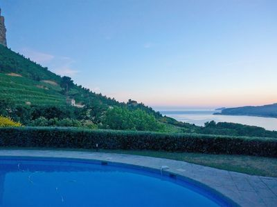 Photo for Prestigious villa with pool and tennis by the sea in Cassis on 10000m2