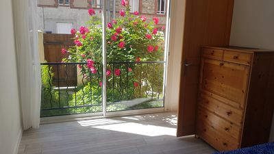 Photo for Nice 50m² apartment for 4 people, near the train station and the city center