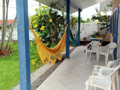 Photo for House in Pinheira 50m from the beach w / Wi-Fi