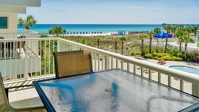 Photo for UNIT 304! OPEN 6/8-15 NOW ONLY $2757 TOTAL!BEACHFRONT!