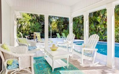 Photo for Captiva Island cottage with private pool, 20% OFF JUNE 1-8  PLUS $100+ beach resort discounts