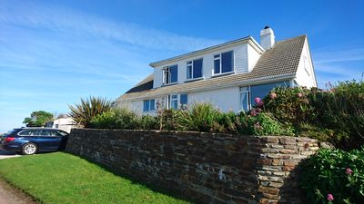 Photo for Mullion Cliff top home, with access to neighbouring hotel pool, tennis &jacuzzi