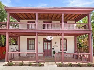 Photo for Absolutely Charming Itz Inn Back Courtyard Suite, Sleeps 4, On Main Street!