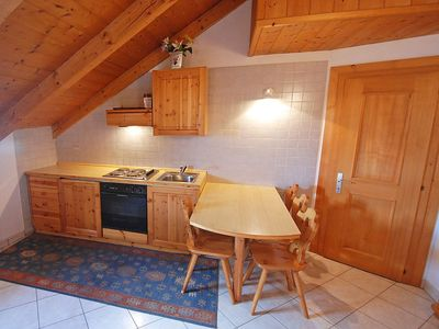 Photo for Apartment in the center of Campitello di Fassa with Parking, Washing machine (124841)