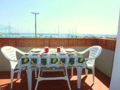 Photo for Directly on the sea !! Apartment with parking in the center of Lido di Pomposa