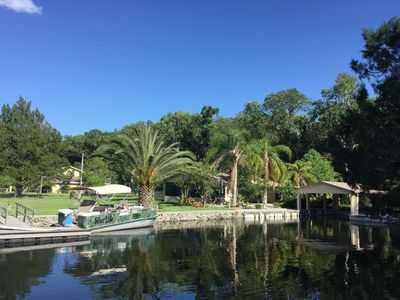 Photo for Homosassa Waterfront PARADISE!! Weekly/Monthly BOAT DOCK, KAYAKS, FLOATING DOCK
