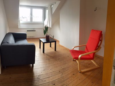 Photo for EU area, charming 2 bedroom apartment with private bathroom in front of the metro