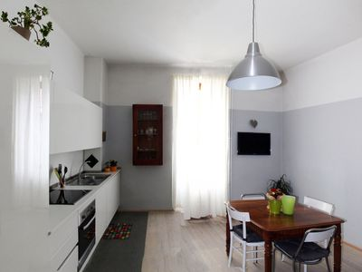 Photo for Delightful apartment a few steps from the historic center of Bressanone