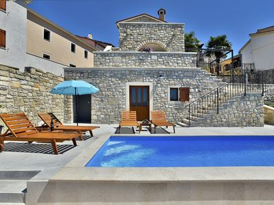 Photo for Century old and newly restored villa with private pool, 3 bedrooms, 3 bathrooms, air conditioning, WiFi, terrace and barbecue
