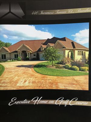 Photo for Executive Home located on Baraboo Country Club golf course.