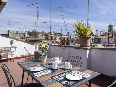 Photo for Spagnoli Roof Terrace Navona Sq