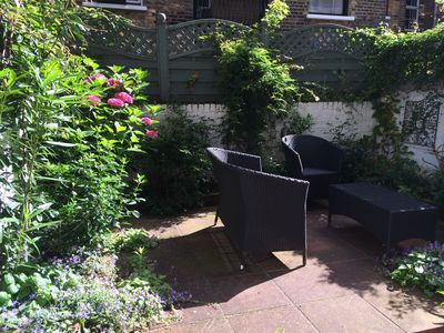 Photo for Charming two-bedroom garden flat in historic Pimlico, in Westminster