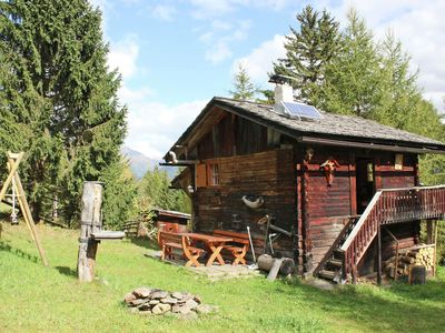 Photo for Typical hut with plenty of flair, comfort and a great view
