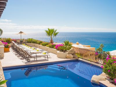 Photo for Villa Las Flores - Great Pacific Ocean Views & Luxurious Style in Pedregal