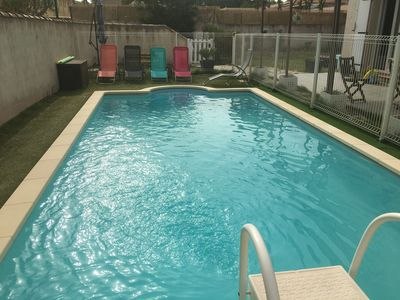 Photo for Beautiful bastide with pool
