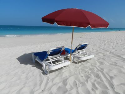 """Photo for Popular """"Queen Ann Suite"""" at Royal West Indies Resort on Grace Bay Beach"""