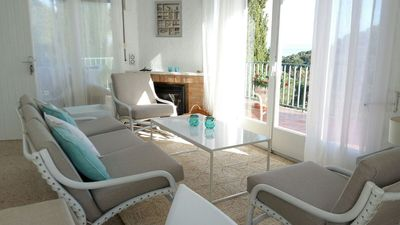 Photo for Charming rental from 2 to 6 p - 2 steps from the beach-Sea view