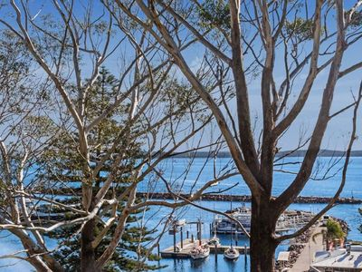 Photo for 4 'Magnus Pines', 52-56 Magnus Street - luxury unit with water views, lift & aircon