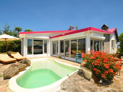 Photo for Lorizon in Rodrigues, villa with private pool and beautiful view