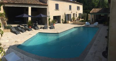 Photo for Provençal farmhouse in the heart of the Alpilles in Provence