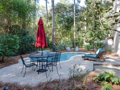Photo for Sea Pines Retreat With Heated Pool And Just  2 Minute Walk To The Beach