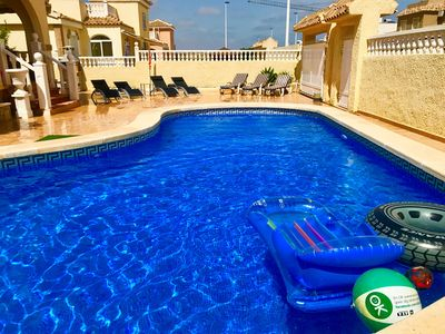 Photo for Luxury villa with private swimmingpool fully air-conditioned near GA center