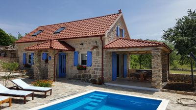 Photo for Family friendly house with a swimming pool Puljane (Krka) - 11688