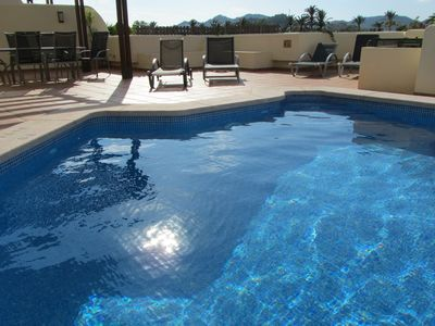 Photo for La Manga Club, Luxurious 3 en-suite bedroom Apartment•Private Terrace and Pool