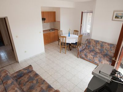 Photo for One bedroom apartment with balcony Privlaka, Zadar (A-11461-d)