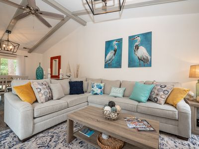 Photo for Pet Friendly, Modern Luxury, Beautiful Remodeled Sea Pines Home. Free Bikes